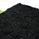 Smoky Mountain Black colored hardwood mulch