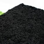 Smoky Mountain Black colored hardwood mulch