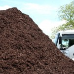 Appalachian Brown colored hardwood mulch