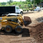 Loading one cubic yard at a time